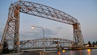 Duluth Minnesota Aerial Lift Bridge 3