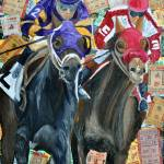 """Horse racing Tickets"" by riverratlee"