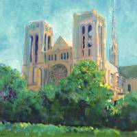 """Grace Cathedral San Francisco California"" by RDRiccoboni"