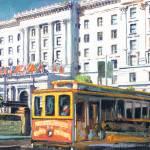 """""""Cable Car 54 San Francisco California"""" by BeaconArtWorksCorporation"""