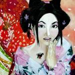 """Japanese Girl"" by sharmistha_datta"