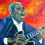 """BB King"" by riverratlee"