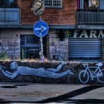 """""""Omino bici"""" by Agostinozamboni"""