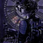 """steampunk clock at midnight"" by pietrastone"