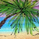 """""""Evening Palms 2"""" by hopegibson"""