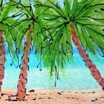 """""""Three Palms"""" by hopegibson"""