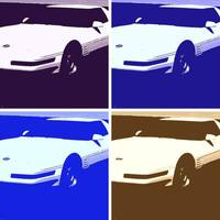 Pop Art Corvettes 1992