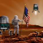 """Martian Stars and Stripes"" by billwright"