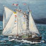 """""""The Canadian Champion Schooner """"Bluenose"""""""" by tgministry"""