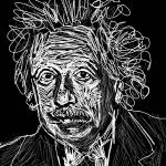 """Albert Einstein"" by GerhardtIsringhaus"