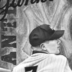 """Mickey Mantle"" by ScottHubbertArt"