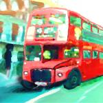 """Londonbus"" by AndreaMeyer"