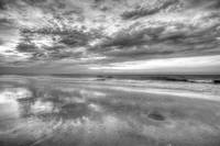 Sand Reflection HDR B+W