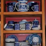 """Blue & White China"" by Newleaf"