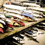 """Kayaks Await"" by KellieOBrienEscapes"
