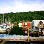 """""""Boathouses and Sailaboats"""" by KellieOBrienEscapes"""