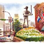 """Stan Musial Statue"" by michaelandersonartprints"