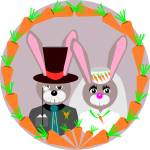 """Bunny Wedding"" by debband"