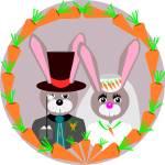 """""""Bunny Wedding"""" by debband"""