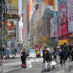 """""""Busy Street Times Square"""" by FantaSeaArt"""