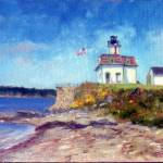 """Rose Island Light"" by blaney"