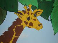 Jungle Theme Giraffe
