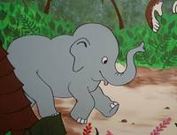 Jungle Theme Elephant