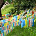 """Prayer Flags in Shangrila"" by PhilBarnhart"