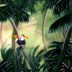 """toucans"" by LindaMessier"