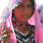 """Woman from Thar 423"" by davies"