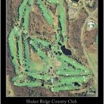"""Shaker Ridge Country Club-B"" by AOCPrints"
