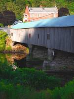 Bath, NH Covered Bridge - Image #1