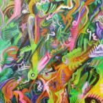 """""""Green Splatter"""" by MattCrux"""
