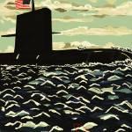 """Surfaced Submarine"" by danite32"