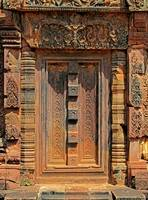 Banteay Srei Temple Chandi False Door 1