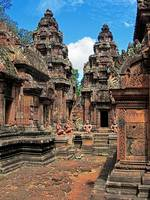 Banteay Srei Temple Chandis