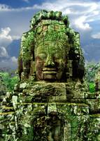 Bayon Temple Stone Faces 4