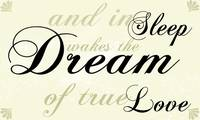 Dream of True Love