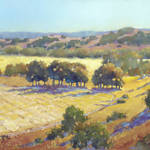 """Long Shadows at Los Olivos by Joyce Hicks"" by jhicksfineart"