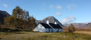 blackrock cottage  glencoe