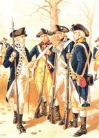 AMERICAN REVOLUTION UNIFORMS