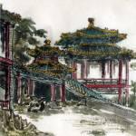 """Pavilion in Summer Palace"" by ShaSha"