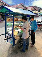 Cambodian Sandwich Vendor