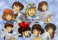 Studio Ghibli Girls