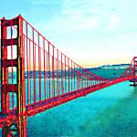 """Golden Gate"" by AndreaMeyer"
