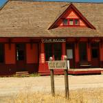 """Cle Elum Railroad Station"" by budo"
