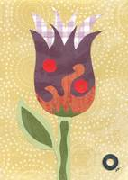 Woodland Creature Simple Flower
