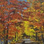 """""""Lakeside Autumn Drive"""" by tgministry"""