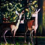 """Woburn Abbey Yearlings"" by jillbuckinghamarts"