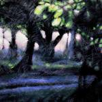 """Dusk at Woburn Abbey"" by jillbuckinghamarts"